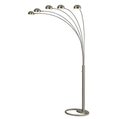 Retro Kitchen Faucets Nova Mushroom 87 In Arc Lamp With 5 Lights 4231rx The