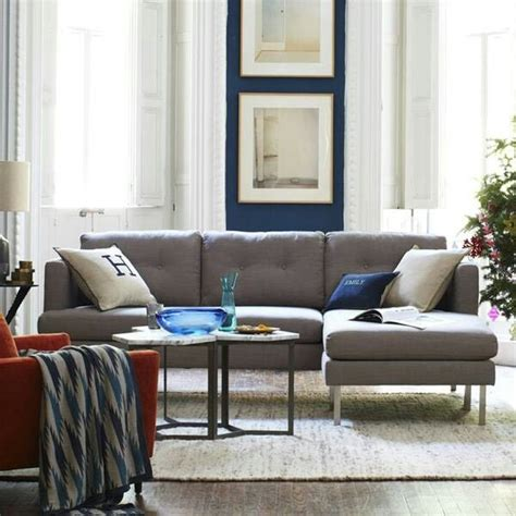 west elm couch west elm charcoal couch for the home pinterest