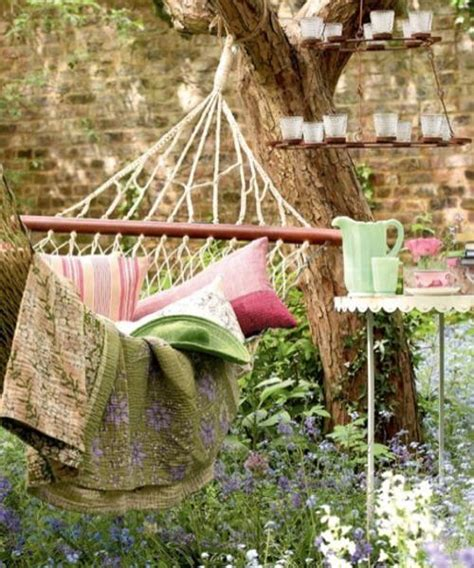 Backyard Hammock Ideas by Pillows For Hammock Decorating Adding Comfort To