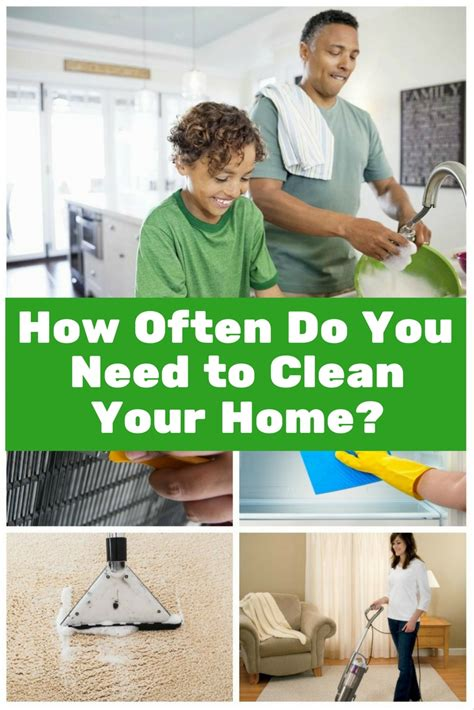 clean your home how often do you need to clean your home the budget diet
