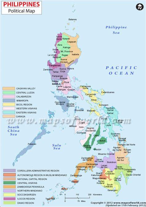 philippine map philippines map maps