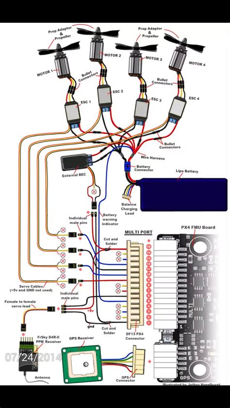 quadcopter wiring diagram 25 wiring diagram images