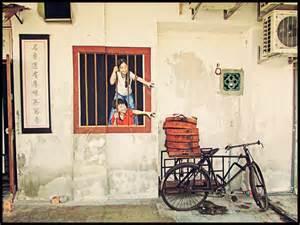 Beautiful Wall Mural Designs creative penang street art 10 pictures akademi