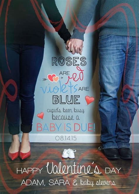 valentines pregnancy announcements crafts valentines and baby number 2 on