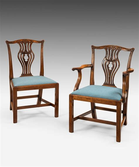 8 Dining Chairs Set Of Eight Chippendale Dining Chairs For Sale At 1stdibs