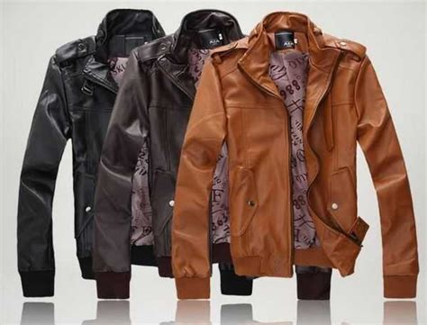 Jaket Kulit Sintetis Ziper Style Zip 026 mens lightweight leather jacket jacket to