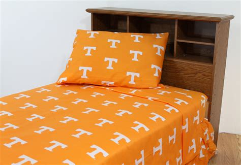 tennessee comforter set tennessee volunteers bedding tennessee bedding set