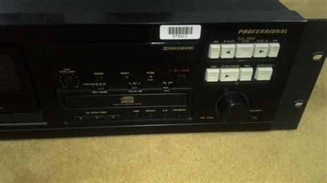 marantz cassette marantz stereo cassette cd pmd350 used