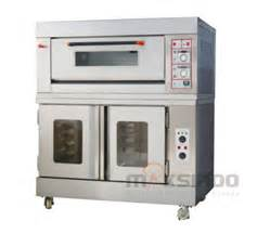 Oven Gas Maksindo kombinasi oven gas proofer rs12 proofer toko mesin
