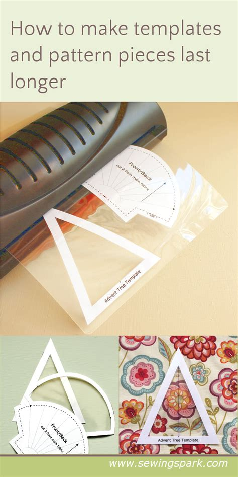 How To Make A Paper Longer - how to make templates more durable sewing spark