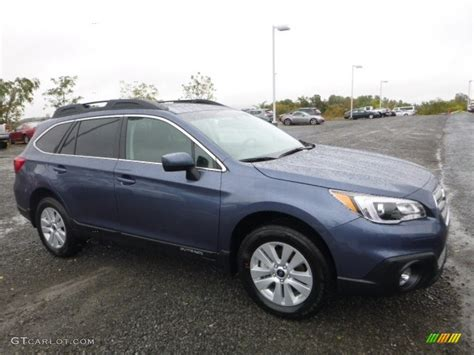dark blue subaru outback 2017 twilight blue metallic subaru outback 2 5i premium