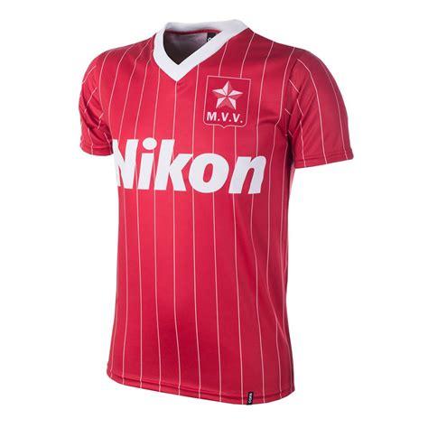 Shop MVV 1983 / 1984 Short Sleeve Retro Football Shirt   770   Buy online   COPA