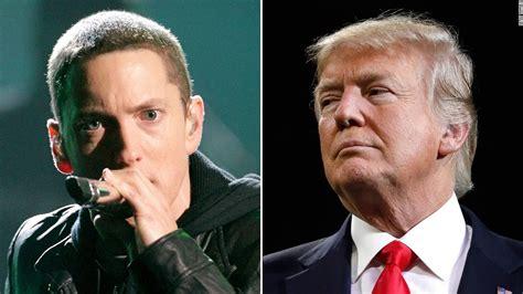 eminem trump eminem is willing to lose fans over his trump criticism