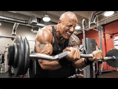 the rock benching dwayne quot the rock quot johnson workout 2016 youtube