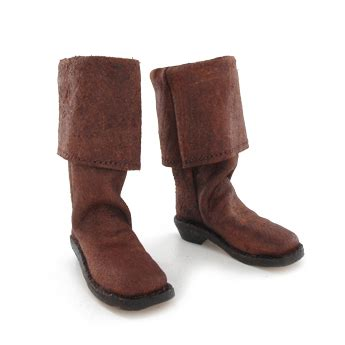 pirate boots brown