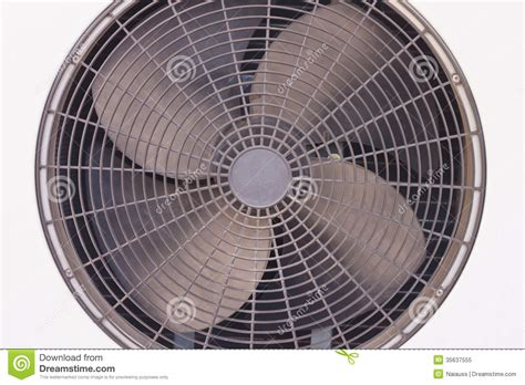fan on air conditioner ventilation fan royalty free stock photo image 35637555