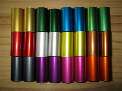 anodized aluminum colors anodised aluminium colours