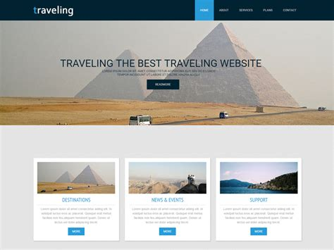 bootstrap templates for travel free download traveling free responsive travel agencies bootstrap
