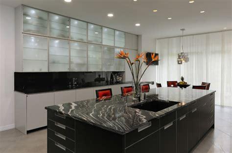 cuisine en marbre le marbre et le design contemporain archzine fr