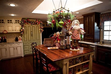 decor for kitchen island decorating ideas that add festive charm to your kitchen