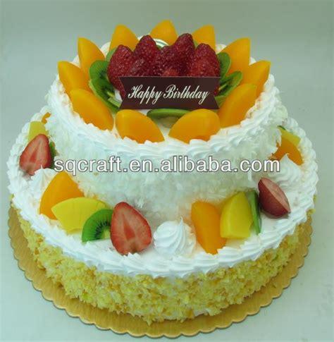 Fakes A Three Way For Bday by Custom Three Layers Plastic Birthday Cake Model New