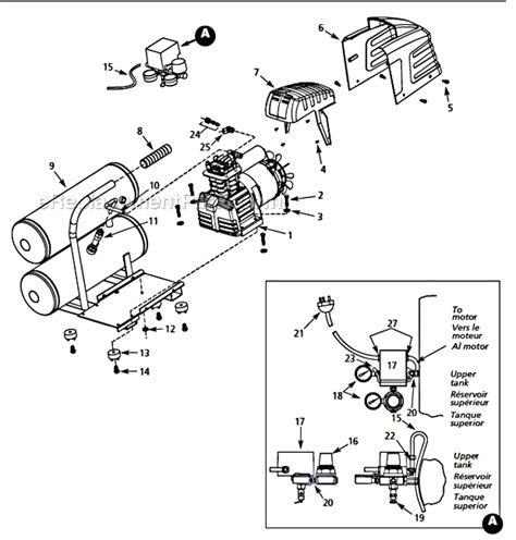 cbell hausfeld hl550200 parts list and diagram ereplacementparts