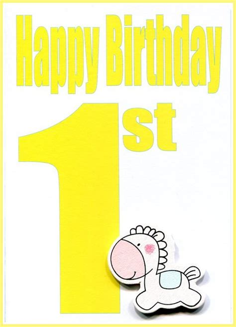 Wholesale Birthday Cards Wholesale Happy 1st Birthday Greeting Card Lhb 081a Lil