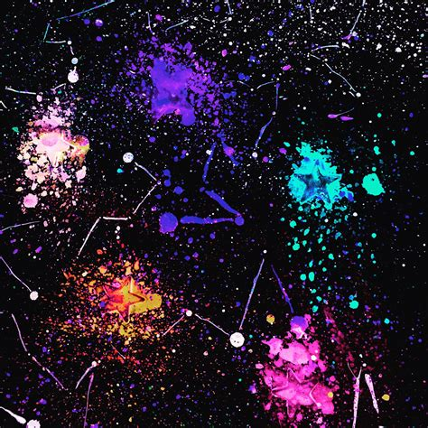 glow in the paint universe in the universe made by me