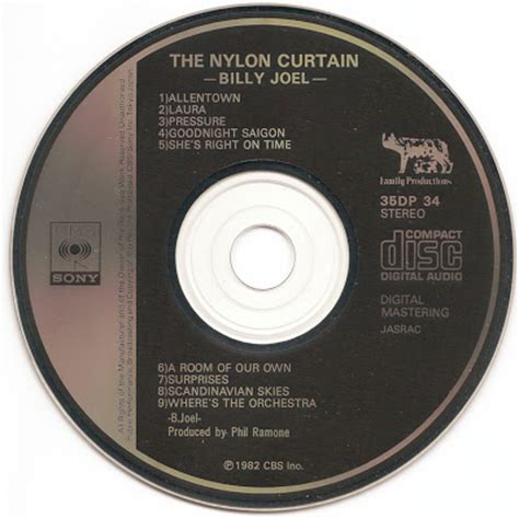 the nylon curtain the first pressing cd collection billy joel the nylon