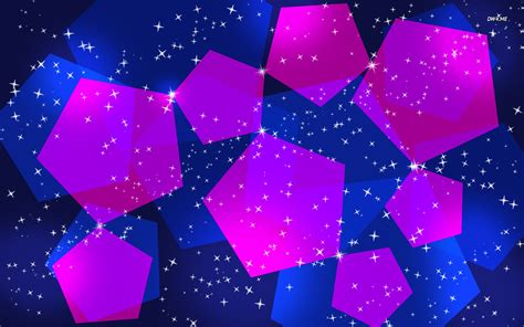 wallpaper blue and pink blue and pink pentagons wallpaper abstract wallpapers 497