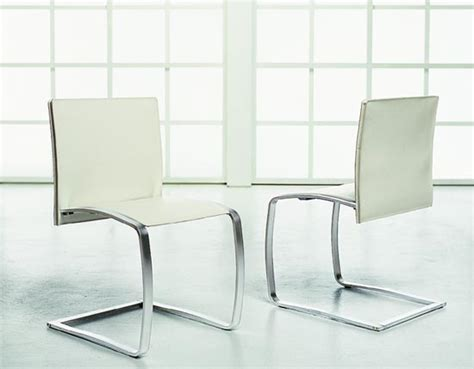 White Modern Dining Chairs Modern White Dining Chairs With The Table