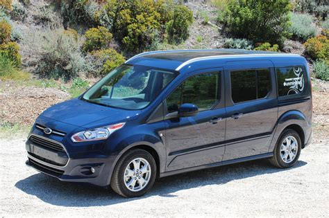 ford transit connect wagon to a cer van pictures