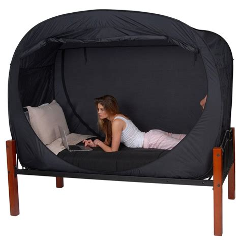 the bed tent privacy pop bed tent twin privacy pop pp black twin