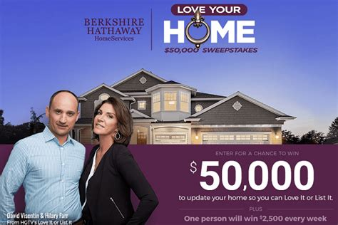 Hgtv 50000 Sweepstakes - love your home 50 000 sweepstakes whole mom