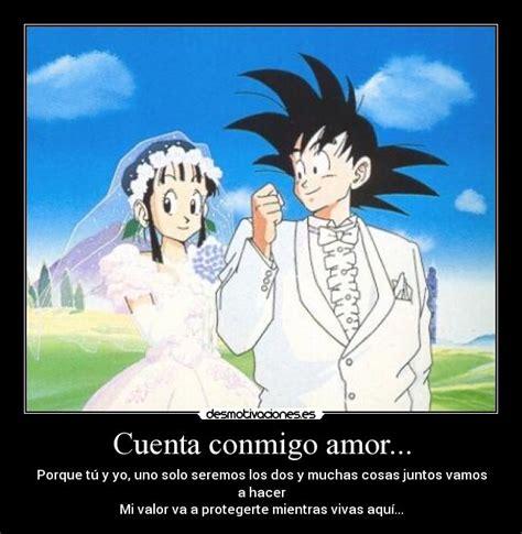 Imagenes Con Frases De Amor De Goku | imagenes de goku con frases de amor imagui