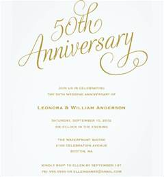 Wedding Anniversary Invitation Templates golden wedding invitation template wedding invitation ideas