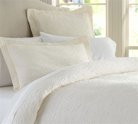 How To Wash Silk Duvet Valerie Floral Matelasse Duvet Cover Amp Sham Pottery Barn