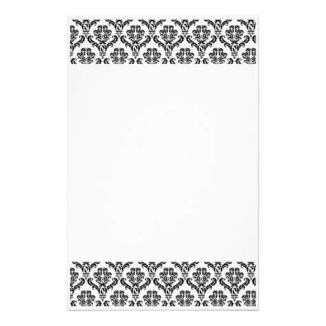 6 best images of printable damask borders for invitations black and white damask border www imgkid com the image