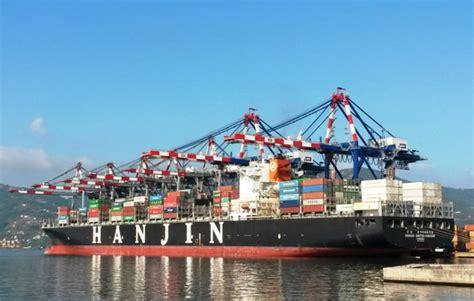 regionale europea la spezia operative a la spezia le nuove gru da 23 file ship2shore