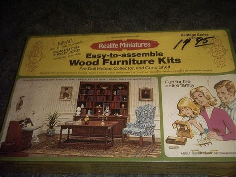 x acto dollhouse furniture 58 best miniature furniture kits xacto house of