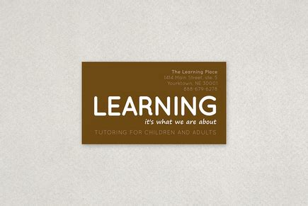 Math Tutor Business Cards Sles