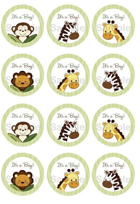 free printable zoo animal cupcake toppers safari friends jungle animal cupcake toppers party favor