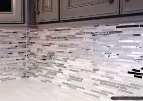 glass and metal backsplash 5 modern white marble glass metal kitchen backsplash tile