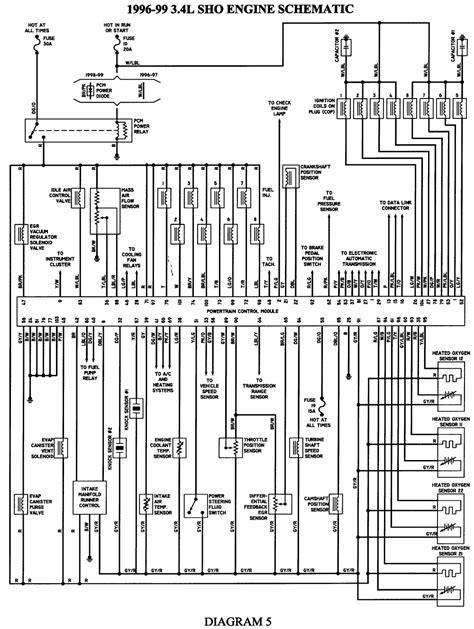 99 taurus fuel wiring diagram get free image about