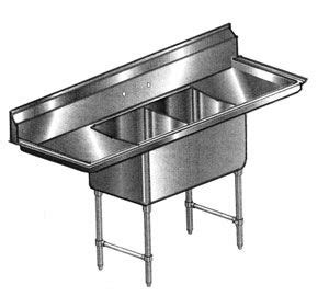 24x24 stainless steel sink elite all stainless 2 bowl 24x24 sink w 2 18 quot drain