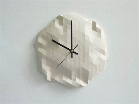 Origami Net - origami clock14 fubiz media