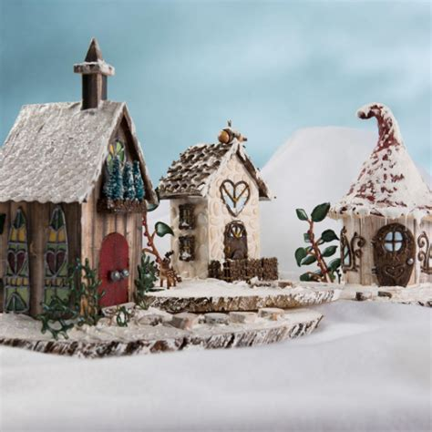 Fairy Garden DIY Snow Village   FaveCrafts.com