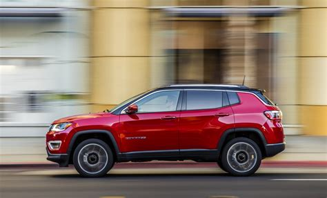 jeep compass side 2017 jeep compass launched in india available in four