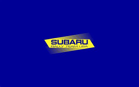 Subaru Rally Logo by Subaru Rally Team Usa Esbg Design