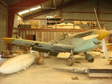 Find In Barn Find Messerschmitt Bf 109